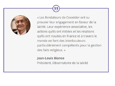 Coexister jean louis bianco